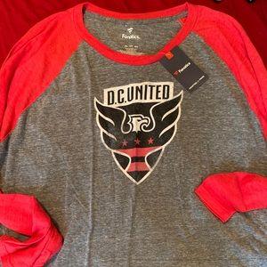 Fanatics DC United long sleeve shirt 3xl new